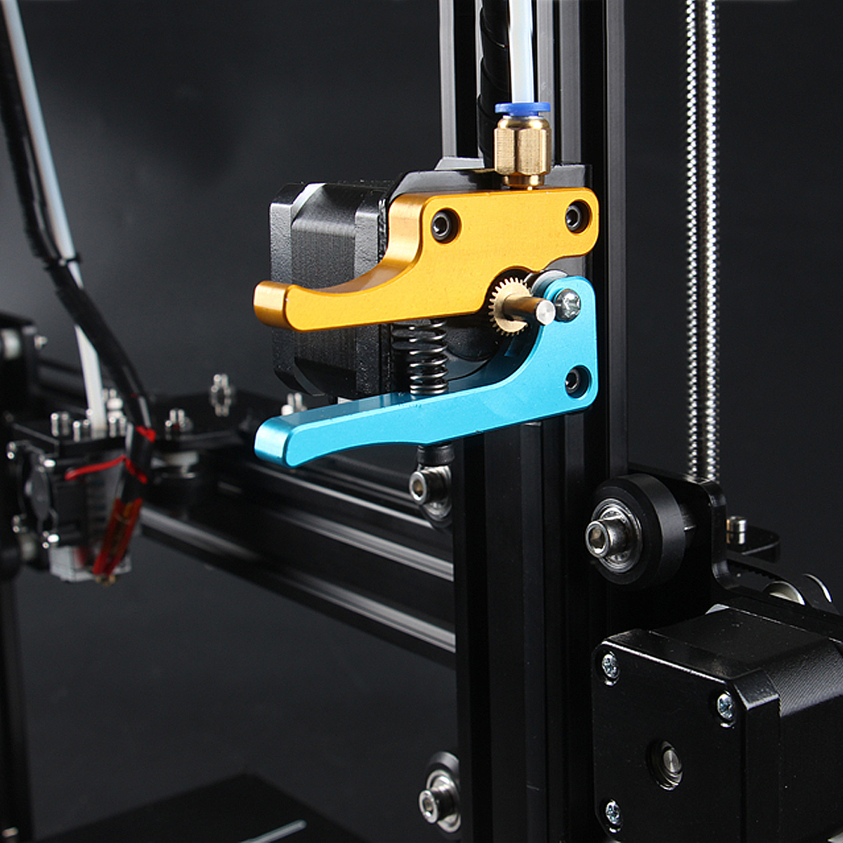 TEVO Tarantula Dual Extruder Upgrade Kits For 3D Printer With Cooling Fan and 17 Stepper Motor Tarantula Dual Extruder джемпер colambetta