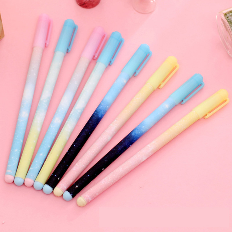 Cute Kawaii Candy Color Plastic Gel Pen Creative Eiffel Tower Erasable Pens Caneta Korean Stationery Free Shipping 3141 lapices erasable pen kawaii stationary material escolar boligrafo gel penne cute canetas floral caneta stylo borrable cancellabi