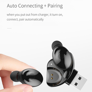 Image 4 - Auricular Bluetooth 5,0 de OUSU TWS, auriculares inalámbricos, auricular manos libres para iphone xiaomi, Cargador USB Original
