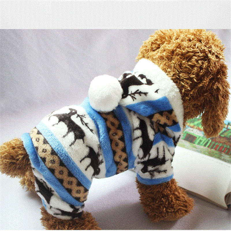 The-New-Autumn-And-Winter-Snowflake-Soft-Fleece-Dog-Clothes-Pet-Dog-Dress-Pattern-Coral-Velvet(3)