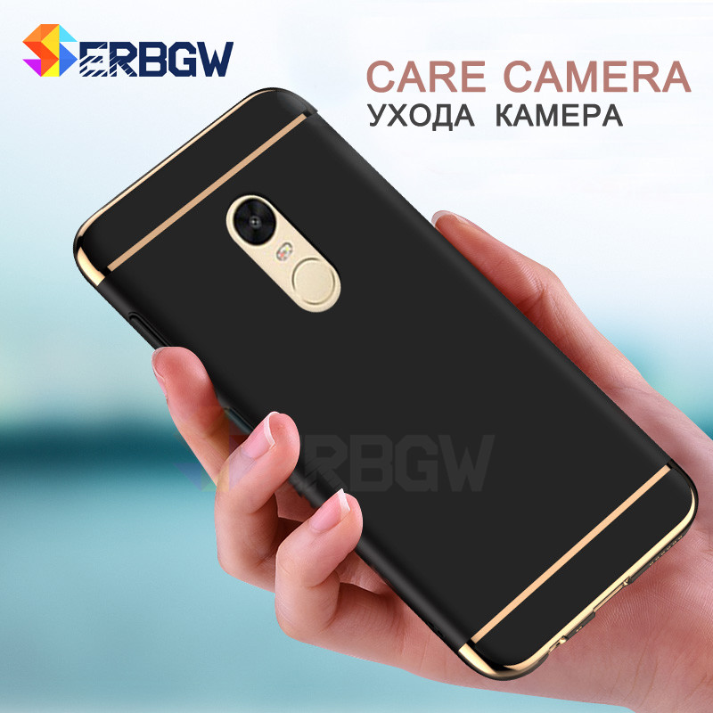 Luxury Hard Case For Xiaomi Redmi Note 4 4X 5A with Full Coverage 4