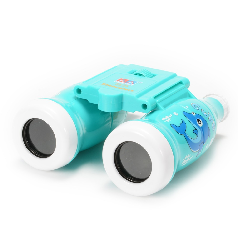 Binoculars-Toy Watching Bird Hiking for Kids Educational Learning Gift Zk15 6x25 Cola