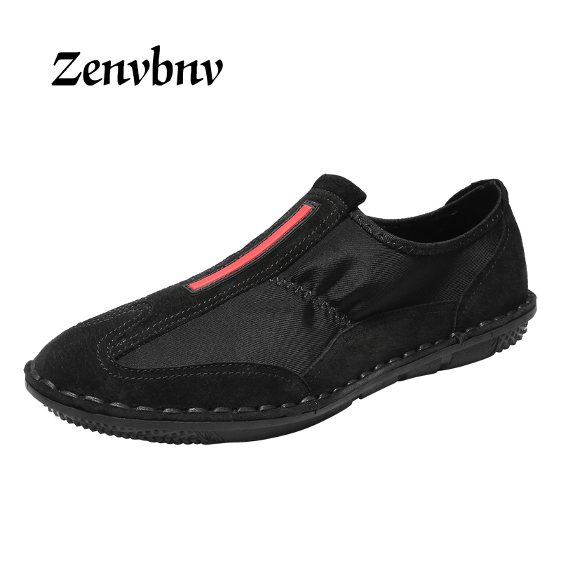 ZENVBNV Sneakers Men Casual Shoes Breathable Suede Leather canvas Shoes Lace Up Mens Fashion  Classic Brand Man Footwear 45 size 2017 simple common projects breathable lace up handmade leather shoes casual leather shoes party shoes men winter shoes