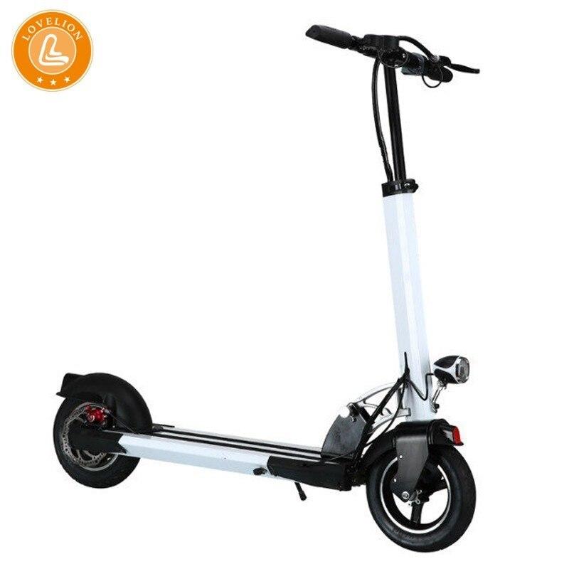 LOVELION livraison gratuite 10 pouces iScooter Scooter électrique intelligent pliant longboard Hoverboard planche à roulettes 2 roues vélo