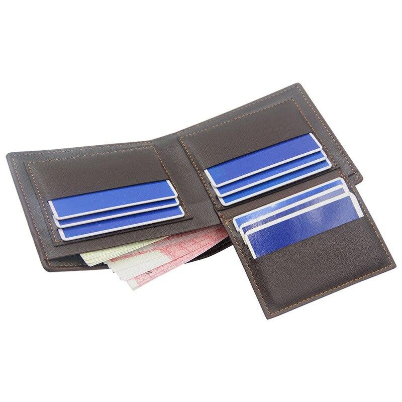 Купить с кэшбэком 3D print wallet men Alligator leather wallet short men's purse Vintage  carteira masculina Thin billetera hombre couro money bag
