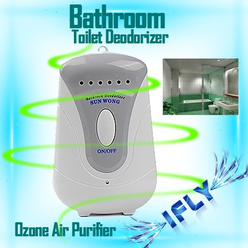Electric Bathroom Toilet Deodorizer Air Purifier Ozone Generator
