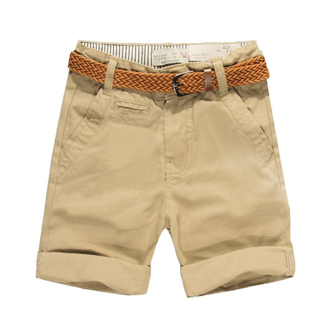 2018 Summer Boys Casual Shorts Brand Design Cotton Children Shorts Solid Color Toddler Pants Kids Clothes Infant Shorts for baby