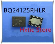 NEW 10PCS BQ24125RHLR BQ24125RHLT BQ24125 MARKING CDZ VQFN-20  IC