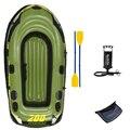 Рыбацкая лодка для рыбалки  2 человека  218*110*36 см  надувная пвх лодка  рыболовная лодка  каяки  весло  насос  сумка для переноски  рюкзак для рыб...