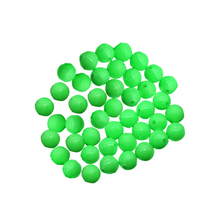 Promo 1000pcs Plastic Glowing Fishing Beads Luminous Rigging Beads Saltwater Fishing Terminal Tackle Wholesale 4mm 6mm 8mm 10mm