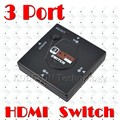 HDMI Divider Switch 3 Port Switcher Splitter 3 in 1 out Selector Adapter For PS3 PS4 Smart TV 1080P for Xbox 360 Game DVD Vedio