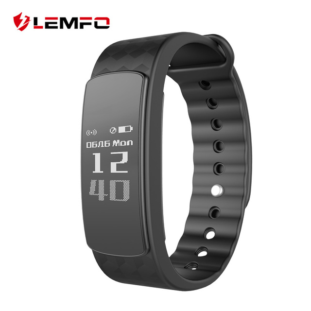 LEMFO i3 Smart Band Sport Wristband Call Remind / Message Display / Pedometer / Sleep Monitor ...