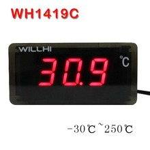-50-110/-30-250 Celsius degree digital thermometer LED display thermostat