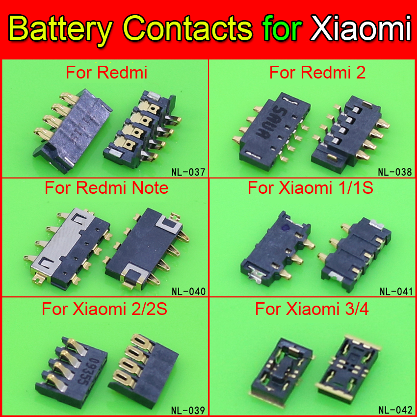 Inner <font><b>FPC</b></font> <font><b>Connector</b></font> Battery Holder Clip Contact <font><b>repair</b></font> parts for Xiaomi Redmi Redrice Note Mi2 MI 2 M2 M2 M2S 3 4 Mi3 Mi4 M3 M4 image