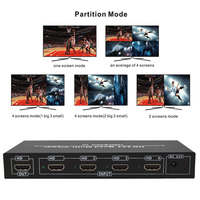 HD 4 1 Quad Multi Viewer Quad Screen Real Time Multi Viewer Splitter Seamless Switcher 1080P