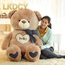 LKDCY // olá urso urso de Pelúcia boneca de pano urso de brinquedo de pelúcia travesseiro presente de aniversário Dos Namorados