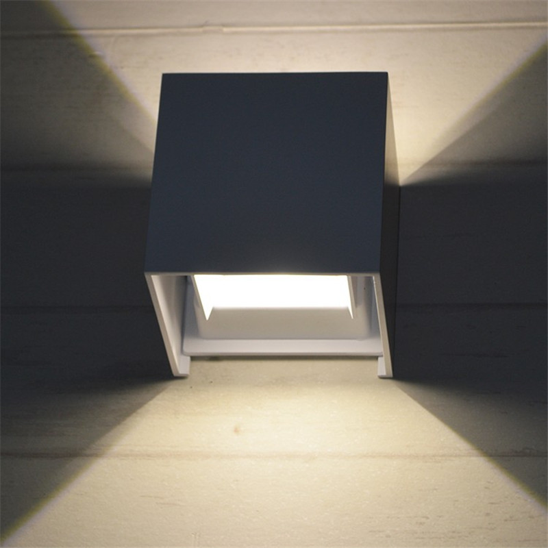 YIYANG 7W 12W LED IP67 Outdoor Wall Lamp Luminaria Lampada Aluminum Adjustable Surface Mounted Cube Garden Decor. Porch Light   -in LED Indoor Wall Lamps from Lights & Lighting on Aliexpress.com | Alibaba Group