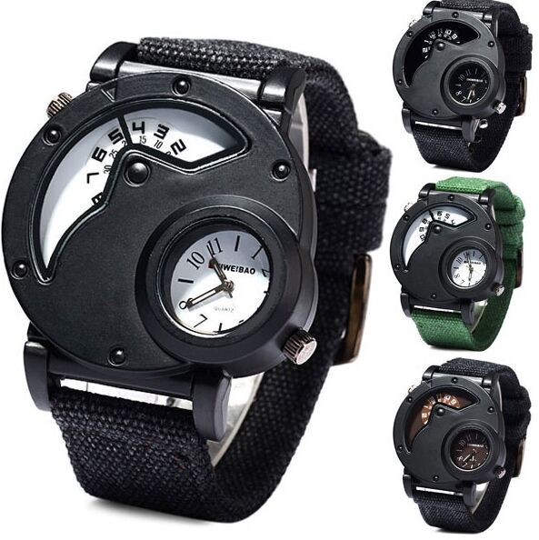 Watch Man Quartz Watches Top Brand Luxury Nylon Strap Military Sport Wristwatch Male Clock relogio masculino