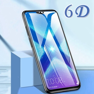 Image 1 - 6D Protective Glass for Huawei Honor 9X 9X Pro Screen Protector Honor V20 On Tempered Glass for Huawei Honor 7X 8X 9X 10 Lite