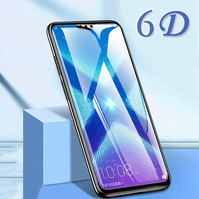 6D Protective Glass for Huawei Honor 9X 9X Pro Screen Protector Honor V20 On Tempered Glass for Huawei Honor 7X 8X 9X 10 Lite
