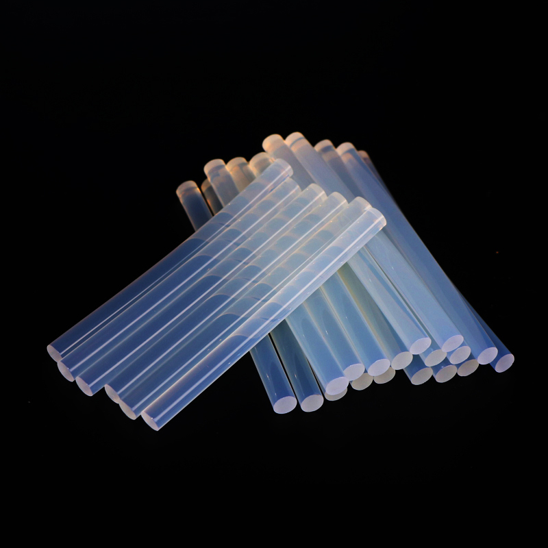 PROSTORMER 10Pcs 7mm x 100mm transparent hot melt glue stick electric glue gun product repair tool accessories car