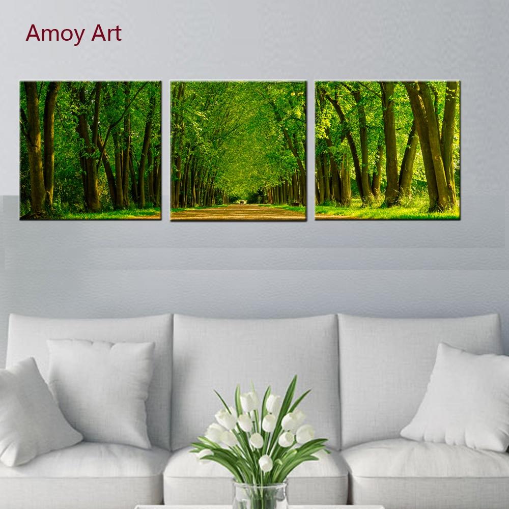 3 panel lienzo pintura cuadros para sala de estar pinturas modulares ...