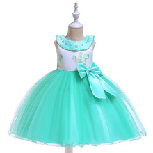 Lovely A-Line  Flower Girl Dresses For Wedding First Communion dresses Kids Evening Party Gowns with Bow Back