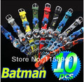 Wholesale 15pcs New Excellent Cool Batman Boys 3D Watches Children's Watch Nice Christmas gifts, Free Shipping