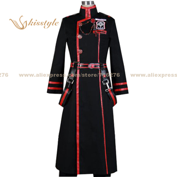 Kisstyle Fashion D.Gray-man Yu Kanda 3G Uniform COS Clothing Cosplay Costume,Customized Accepted