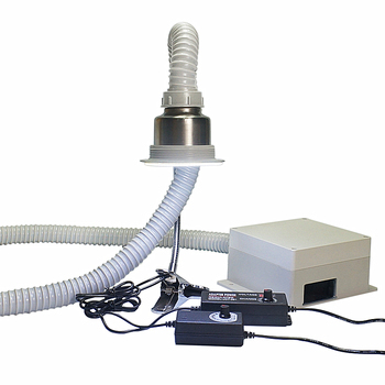 Electric Soldering Iron Solder Station Smoking Instrument Air Exhaust Blower Anti-static Smoke Exhauster Fan Smoking Machine