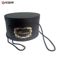 Wedding Ring Box Custom Luxury Paper Round Flower Tube Gift Box For Flower