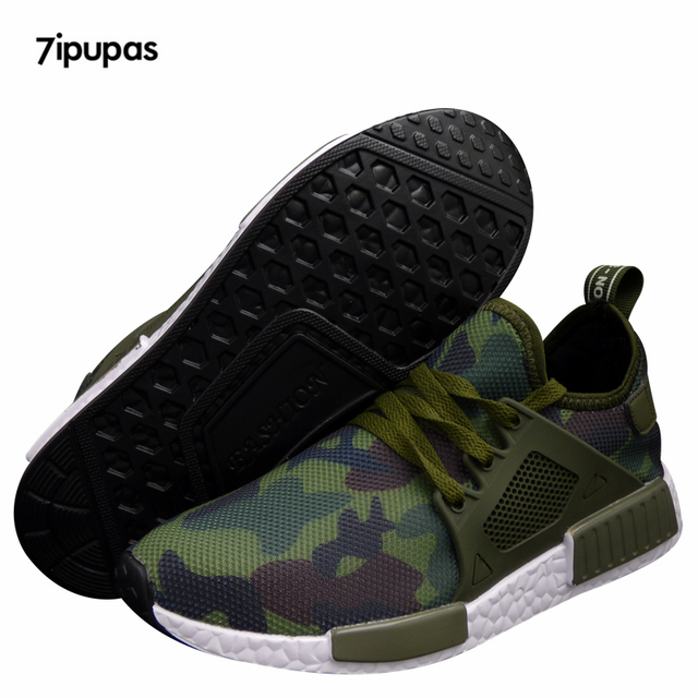 98ee839b374fc 2017 Summer Tenis Hot Sale Designer Men Shoes Camouflage Casual Mesh Luxury  Breathable Male Shoes Human Race Trainers Krasovki