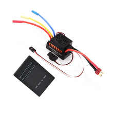 OCDAY Waterproof 60A RC Brushless ESC BEC Car Parts Electric Speed Controller with 5.5V 3A BEC for 1/10 RC Car Truck