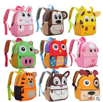 Children 3D Cute Animal Design font b Backpack b font Toddler font b Kid b font