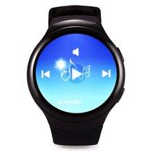 K9 1.3นิ้วs mart w atchโทรศัพท์android 4.4 mtk6572 dual core 1.0กิกะเฮิร์ตซ์512เมกะไบต์ram h eart rate monitor pedometerบลูทูธsmart watch