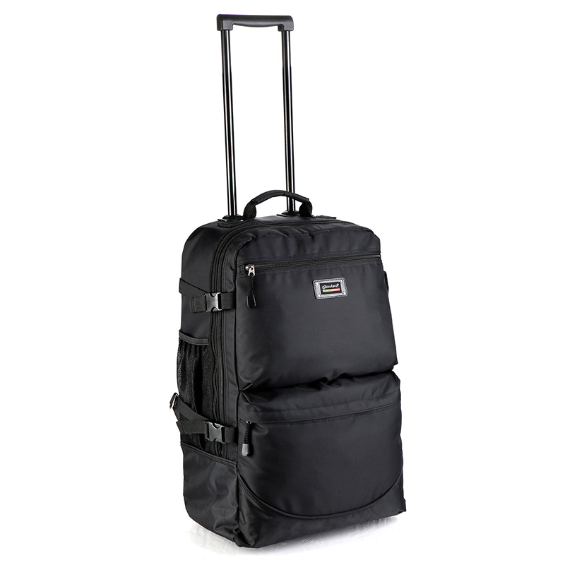 High quality travel Large capacity trolley luggage bag with wheels multifunction travel trolley bag carry on