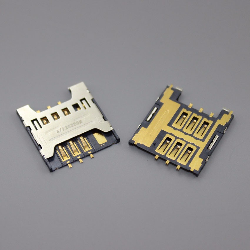 10PCS SIM Card Tray Reader Module Holder Replacement For Samsung I9070 I9070P Galaxy S Adance Focus I917,KA-035