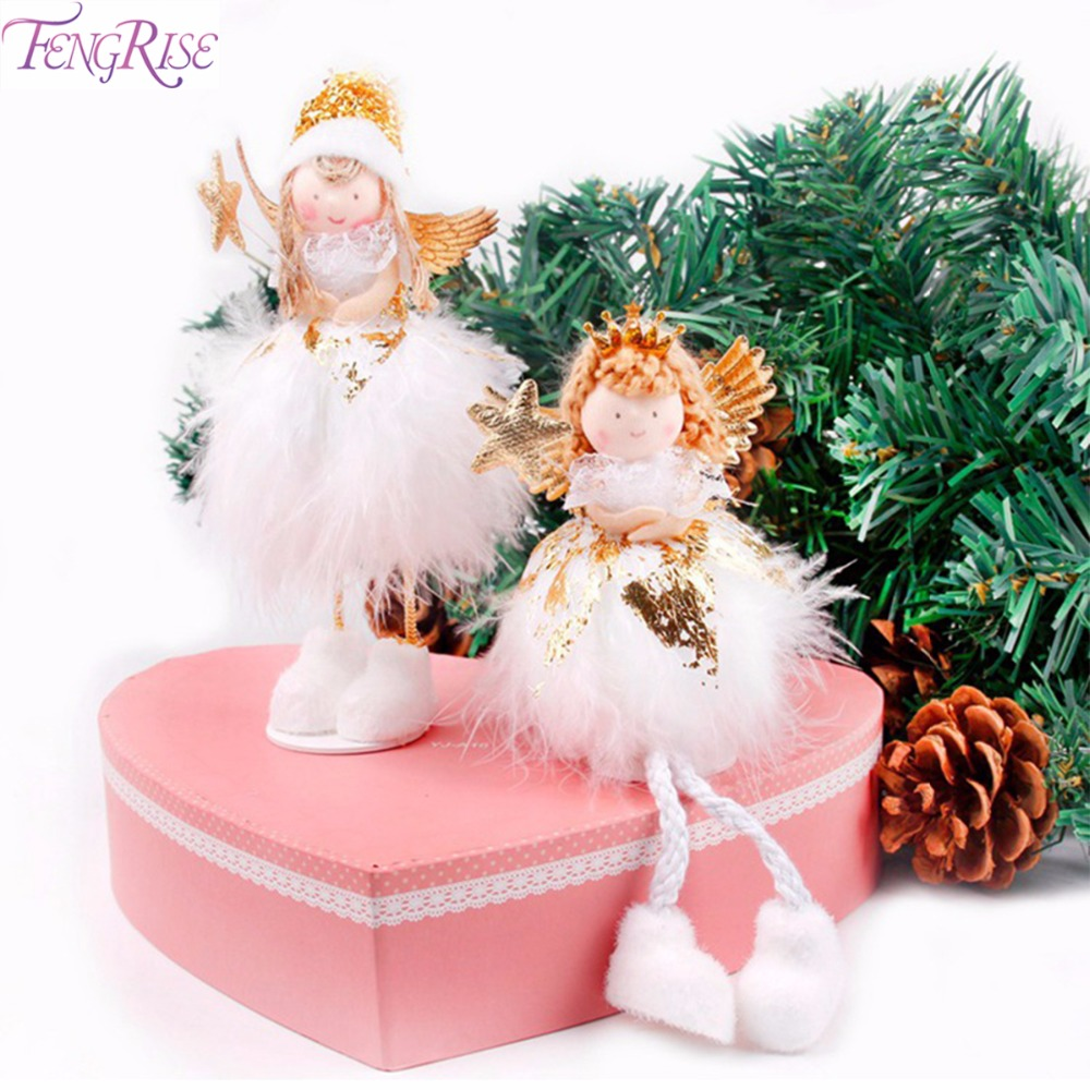 Decorating Tips For A Modern Merry Christmas: FENGRISE Christmas Angel Doll Merry Christmas Decorations