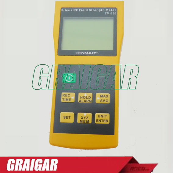 TM196 3 Axis Electrosmog RF Field Microwave EMF Meter Tester Frequency 10MHz~8GHz  цены