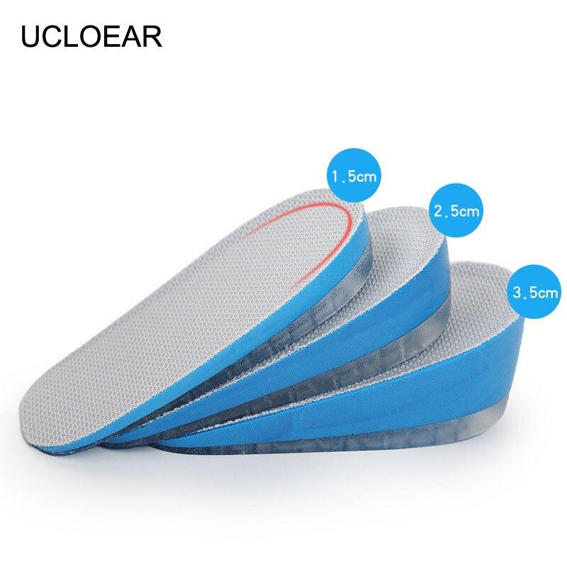 Beliebte Marke Ucloear Ferse Kissen Für Schuhe 1,5/2,5/3,5 Cm Höhe Erhöhen Schuhe Halb Kissen Air Kissen Ferse Unsichtbar Ferse Kissen Einlagen & Kissen Schuhzubehör