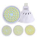 MR16 Led Spotlight Lamp 220V 230V Light Led Bulb High Bright Bombillas LED Lamparas SMD2835 48/60/80LEDs For Home Lighting Lamps