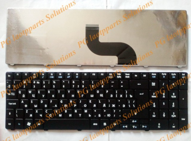 New Russian Keyboard For Acer PK130C94A00 NSK-AUB0R PK130C91104 V104702AS3 MP-09B23SU-6983 PK130C91100  RU  Laptop Black