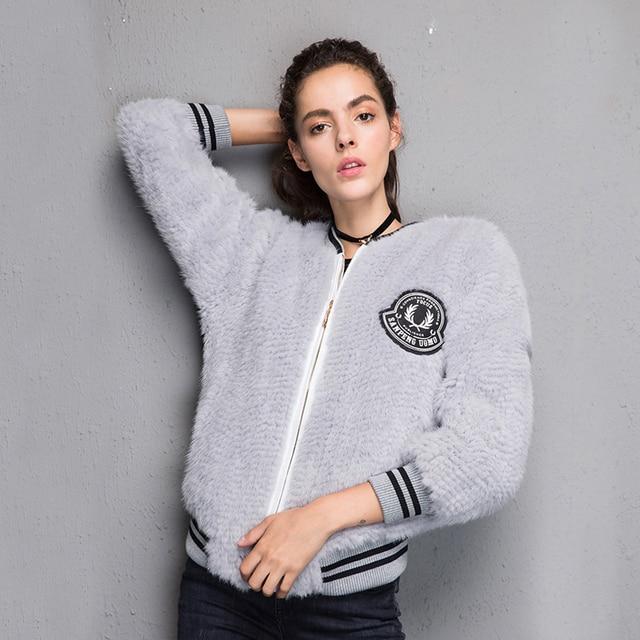 2017 New 100% Real Mink Knitted fur Short Jacket, Natural Mink Fur Coat BE-1708 Free shipping 1