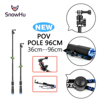 SnowHu High Grade Selfie Monopod Style Monopod Tripod For Gopro Accessories Selfie Stick Small And Light