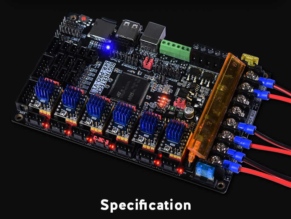 BIGTREETECH SKR PRO V1 1 Motherboard 32 Bit Support TMC2130