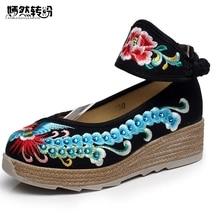 Shoes Travel Cotton Platforms