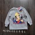 New 2017 Brand boys long sleeve thicken tops winter fireman sam kids for boys thick clothes cotton warm sweater for boys