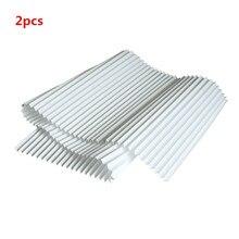 Filtre universel pm 2.5, brume pour nettoyer 1200x290mm, papier HEPA avec filtre repliable, pièces de purificateur dair, 2 pièces