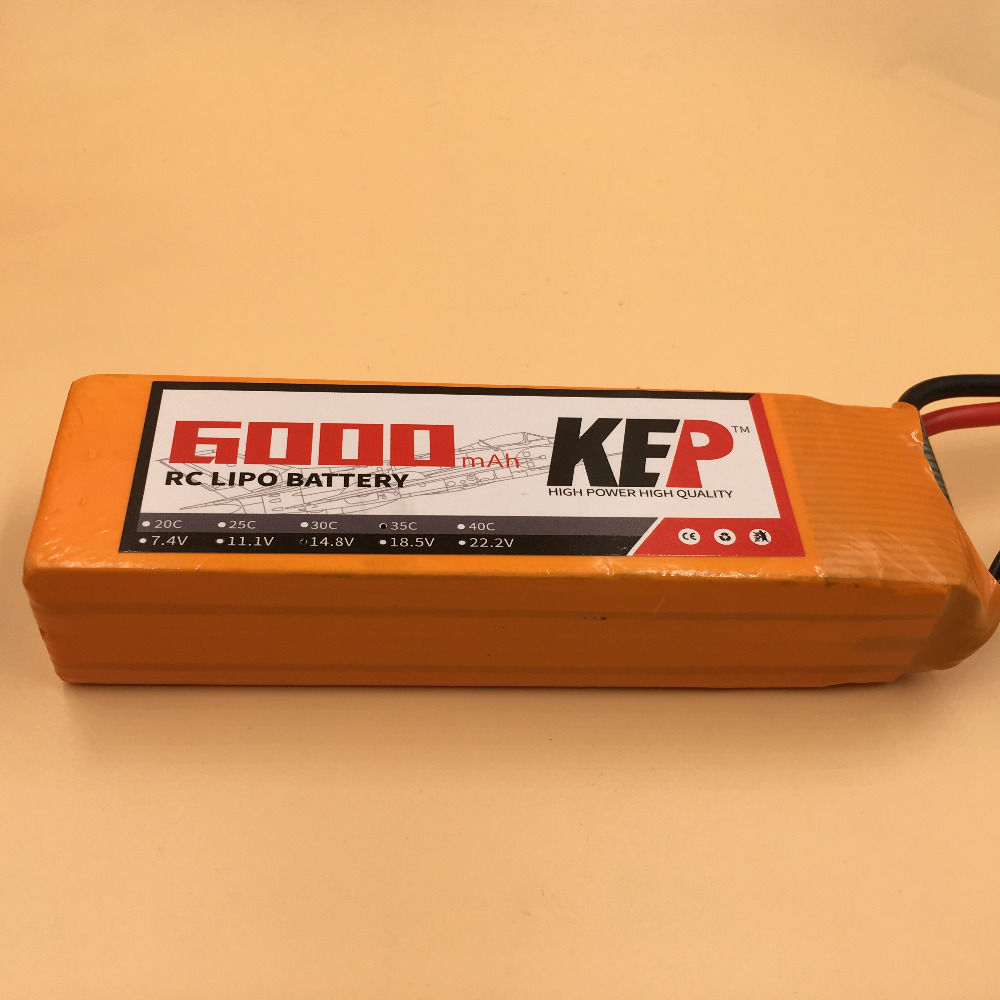 KEP 6S RC Lipo Battery 22.2v 6000mAh 40C For RC Aircraft Helicopter Car Drones Boat Quadcopter Airplane Li-ion Battery 6S AKKU 1s 2s 3s 4s 5s 6s 7s 8s lipo battery balance connector for rc model battery esc