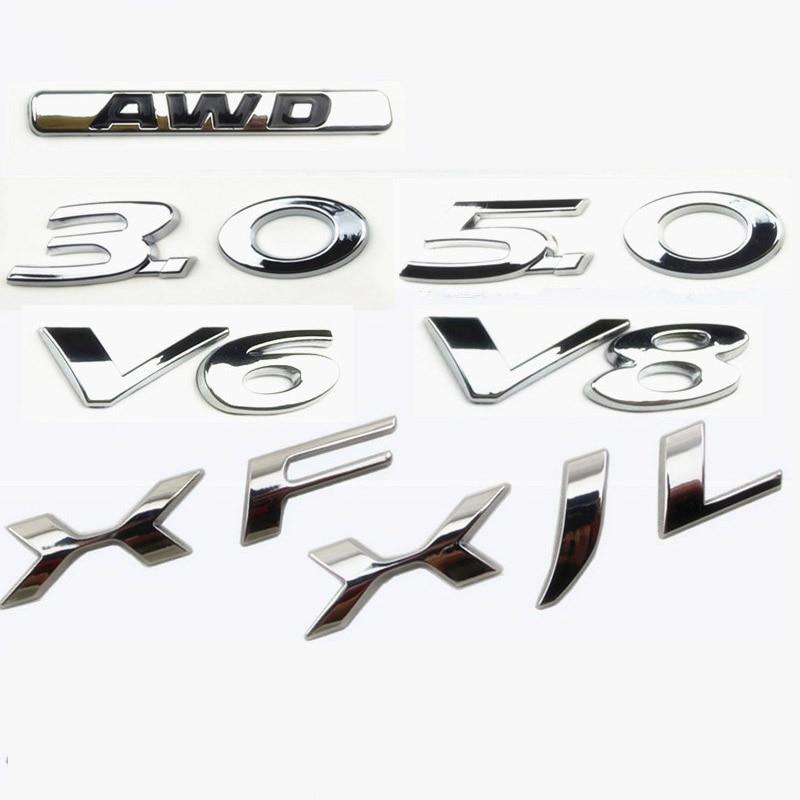 for jaguar xf xjf 3 0 5 0 v6 v8 awd number displacement